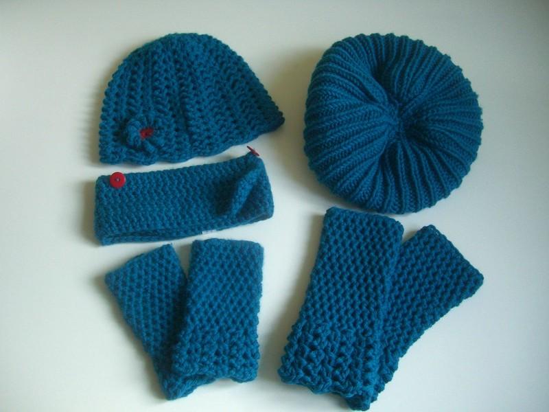 bonnets et mitaines