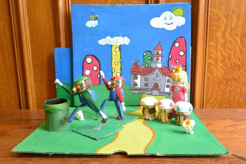 Diorama Mario (1)