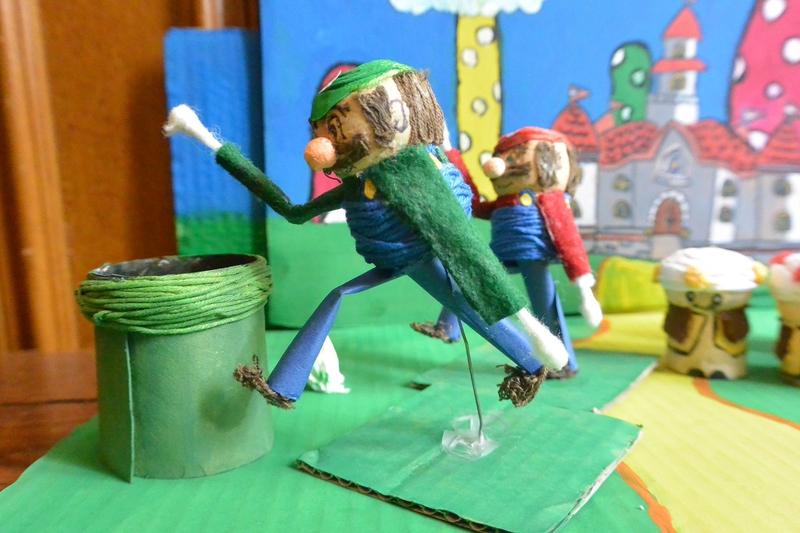 Diorama Mario (3)
