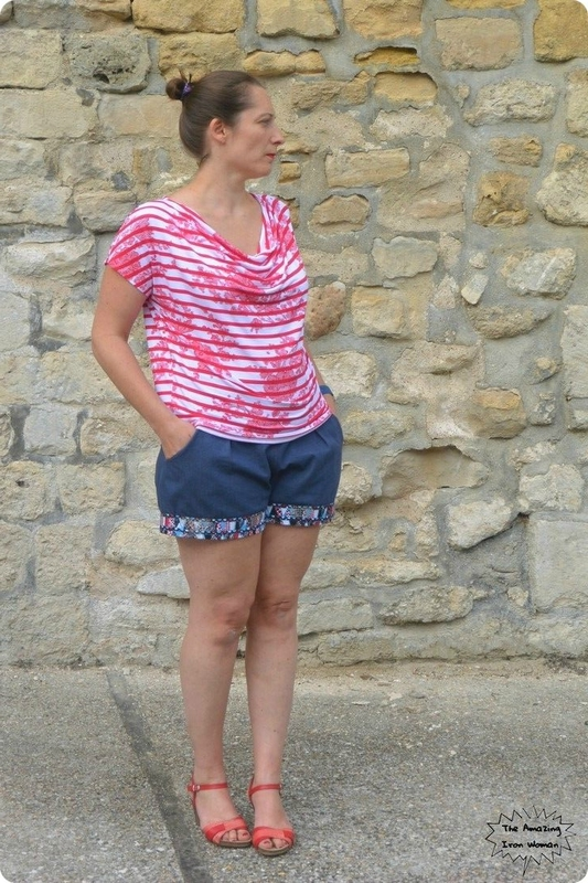 Short châtaigne deer and doe et trop top ivanne s
