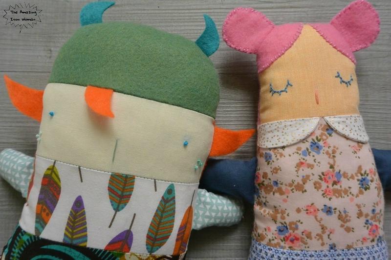 mahaul sidonie poupées à coudre