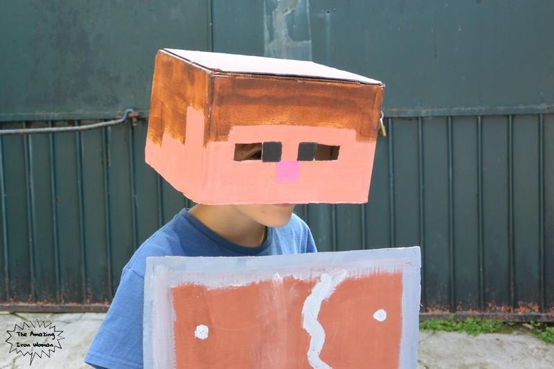 déguisement Minecraft