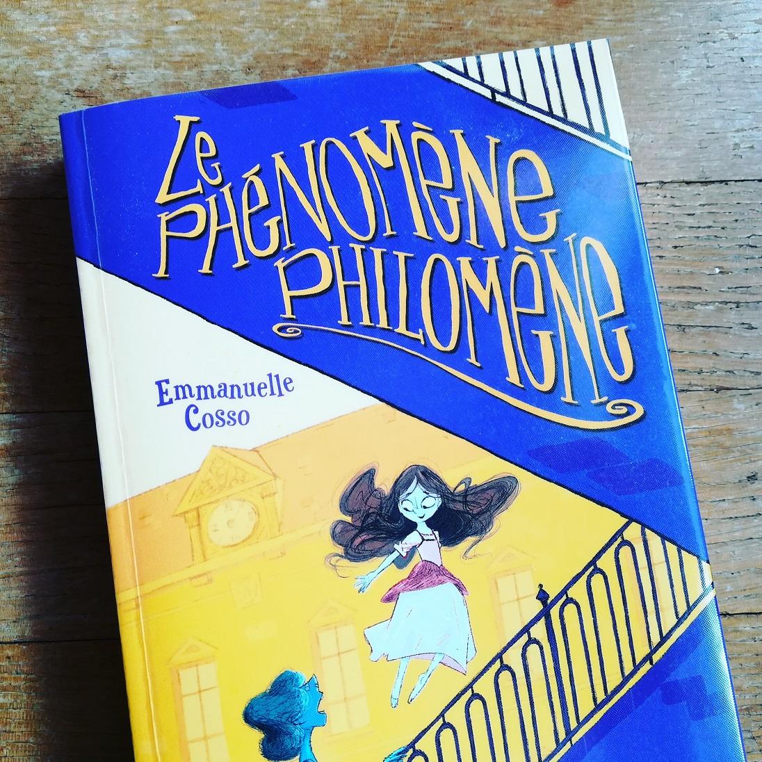 Phénomène Philomène - Emmanuelle Cosso couv