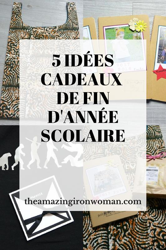 5 idées cadeaux de fin d'année scolaire The Amazing Iron Woman