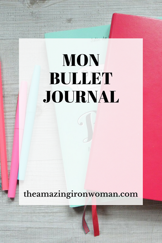 Mon Bullet journal The Amazing Iron Woman