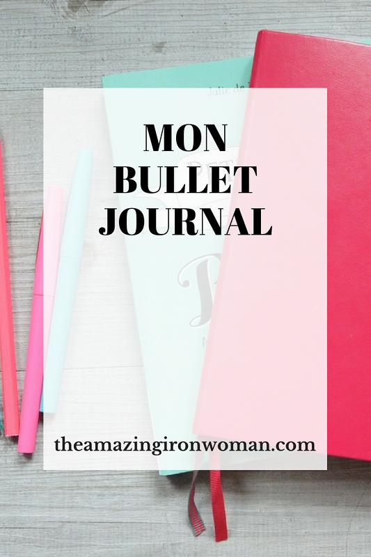 Mon Bullet journal The Amazing Iron Woman
