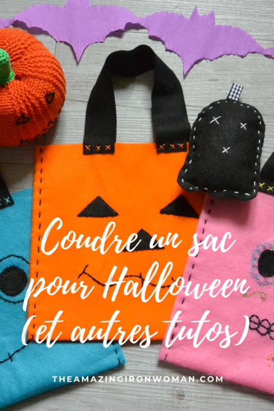 Coudre un sac pour Halloween