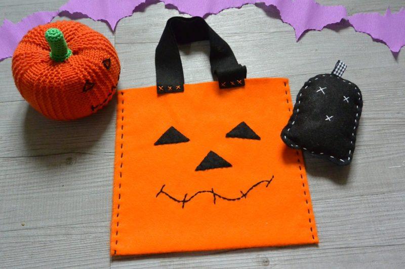Tuto sacs bonbons halloween