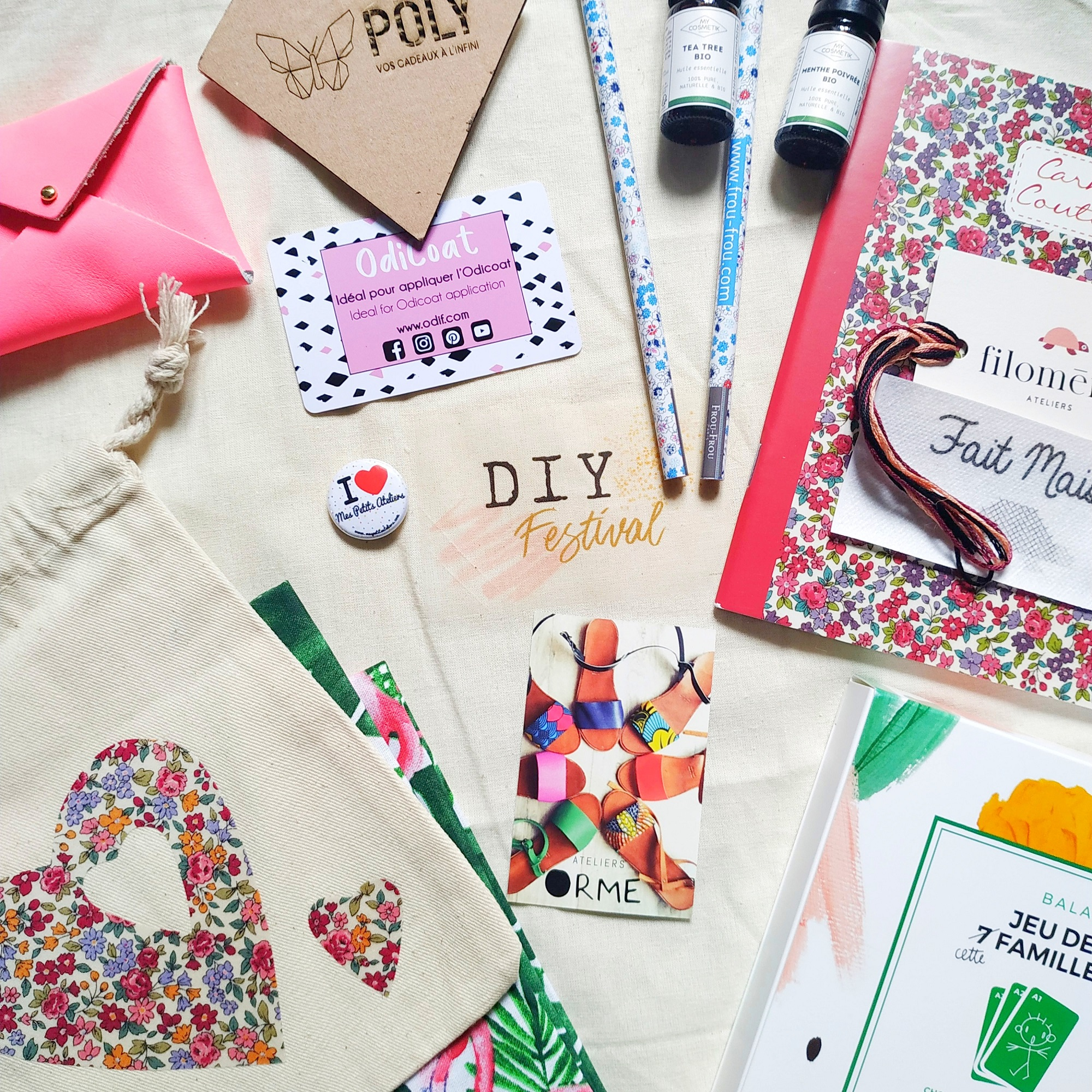 5 idées cadeaux DIY Festival