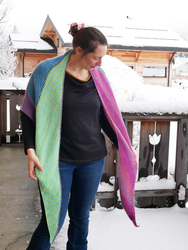 Spring cleaning shawl - Stephen West - The Amazing Iron Woman