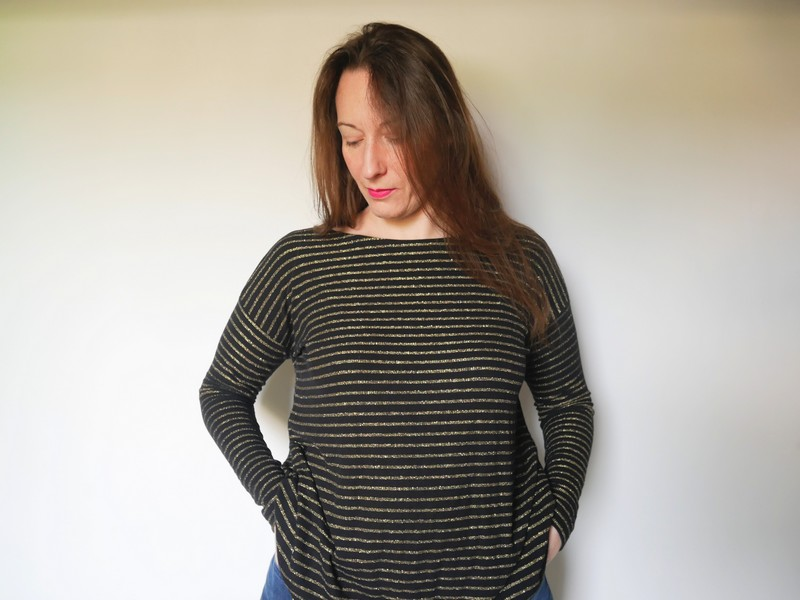 Mandy boat tee - the amazing iron woman (3)