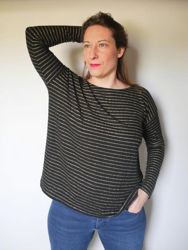 Mandy boat tee - the amazing iron woman (4)