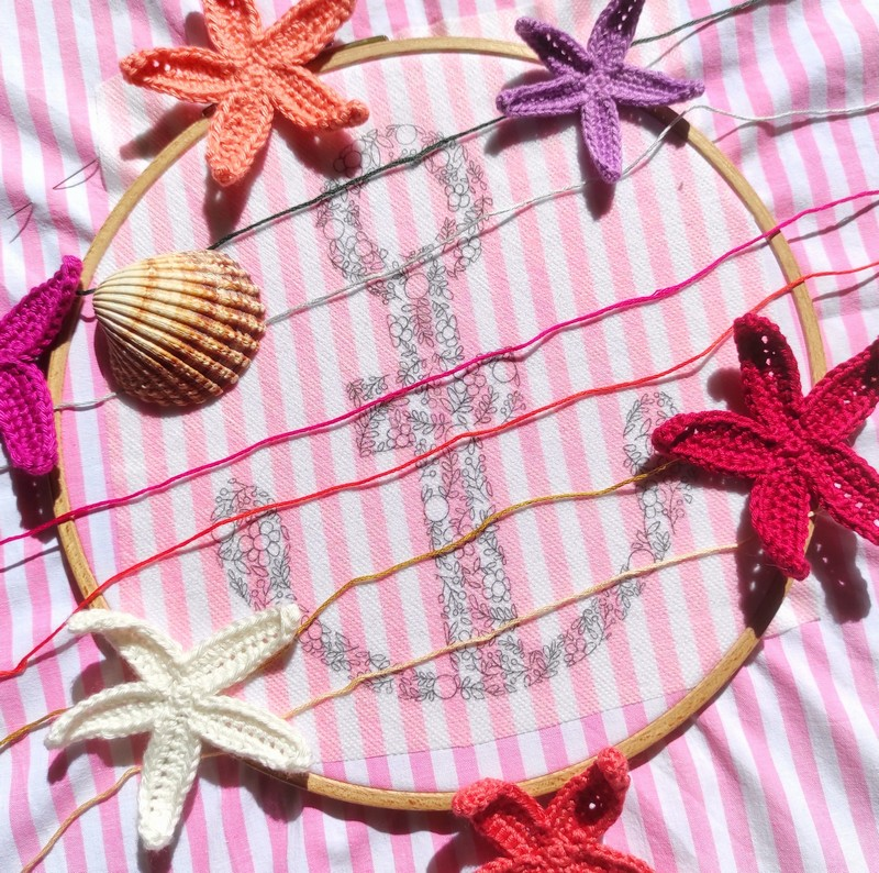 Broderie atelier hoop - the amazing iron woman