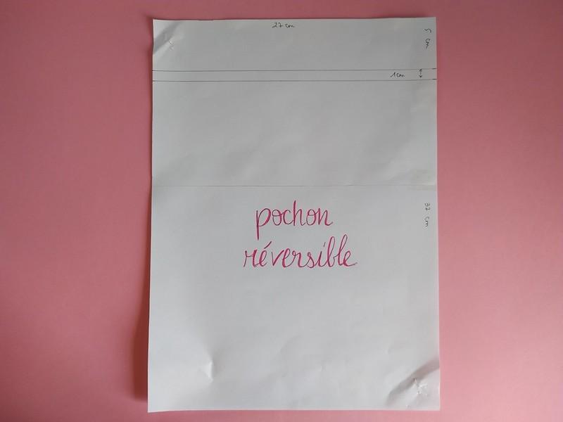 tuto facile - coudre un pochon réversible - the amazing iron woman