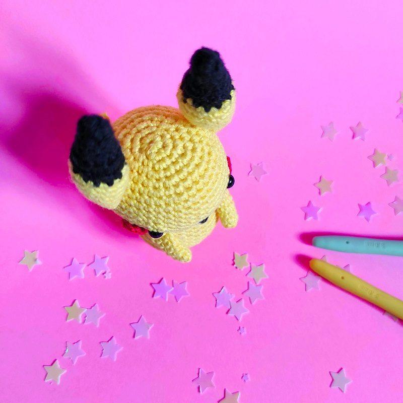 amigurumi pikachu lalylala crochet the amazing iron woman